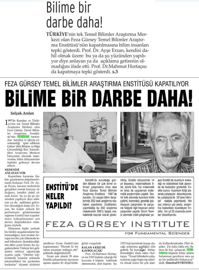 Cumhuriyet Orhan Bursalı 2. Yazısı